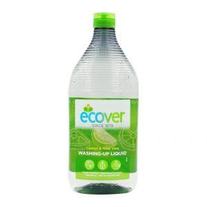 ECOVER Detergent lichid pentru vase cu lamaie si aloe vera 950 ml