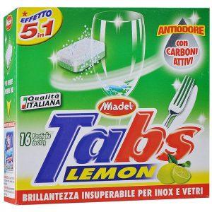 MADEL Tablete pentru Mașina de Spălat Vase (5 IN 1)16 buc