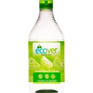 ECOVER Detergent lichid pentru vase cu lamaie si aloe vera ECOVER 450 ml
