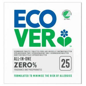 Ecover ZERO tablete p/u masina/sp. vase 25 tabl.