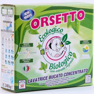 Detergente Eco-Biologico pentru rufe 2,4kg(50 spălări)