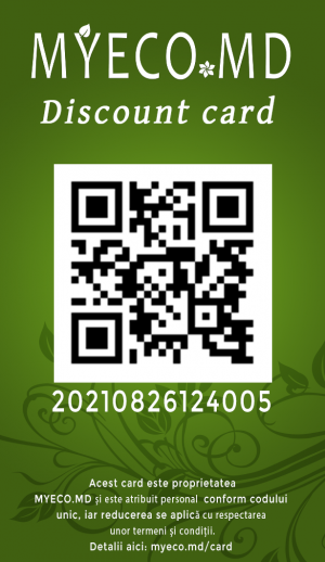 Șablon discount card myeco